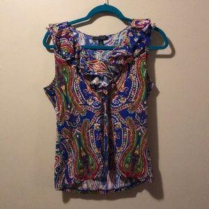 Women's Large sleeveless top Lauren Ralph Lauren